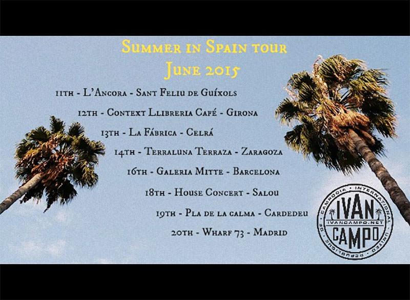Ivan Campo tour
