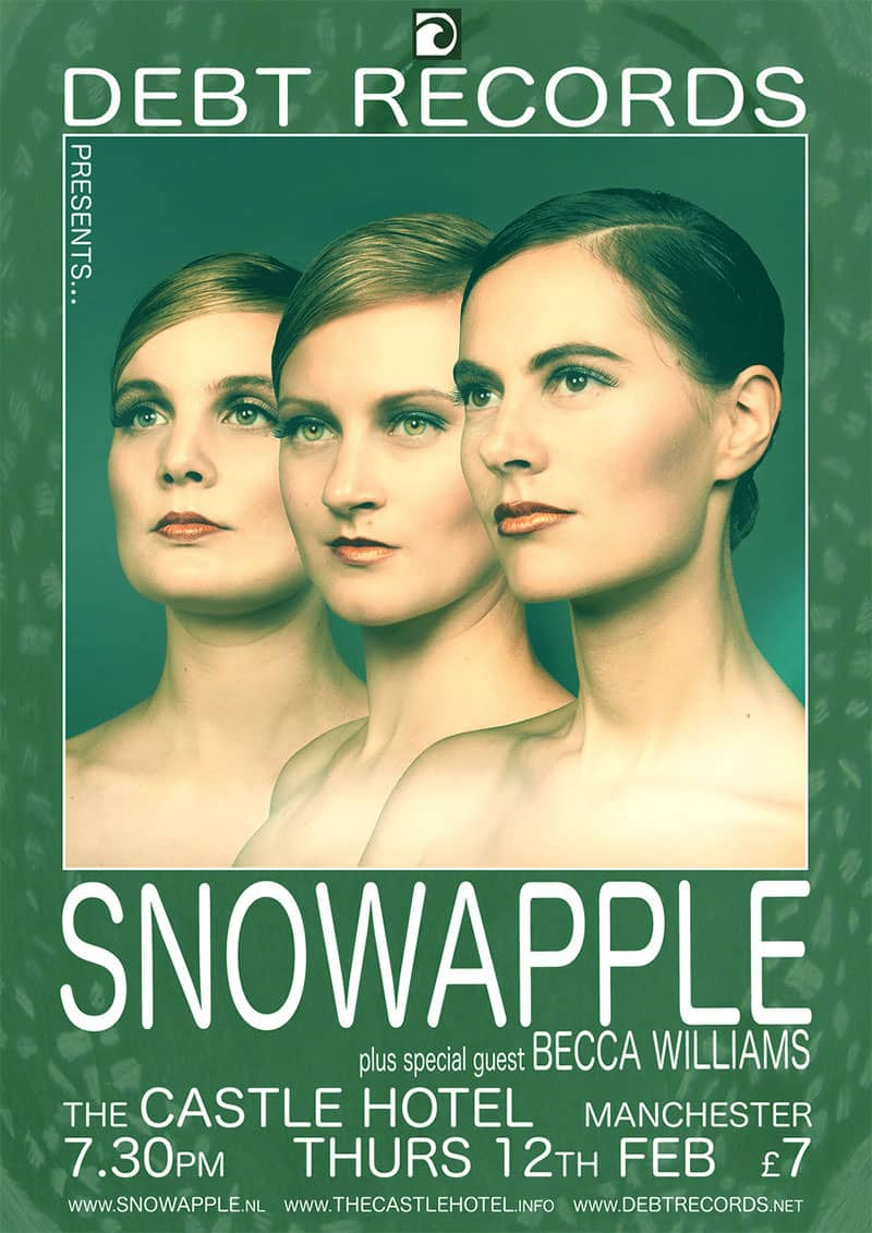 Snowapple UK tour