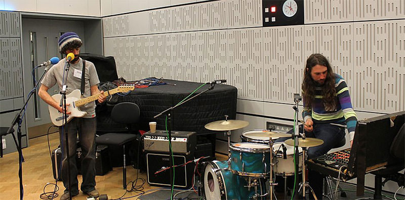 Walk in session on BBC Radio 4's Loose Ends